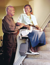 Electra-Ride LT Straight rails stairlift